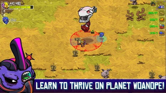Snímka obrazovky Crashland
