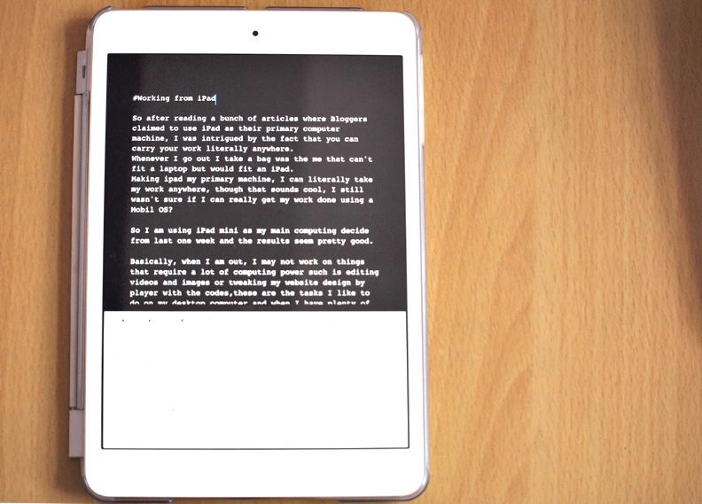 Používanie iPad Mini ako primárneho počítača a jeho účinnosť 1