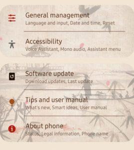 Galaxy s10e: Tìm số điện thoại của bạn 1
