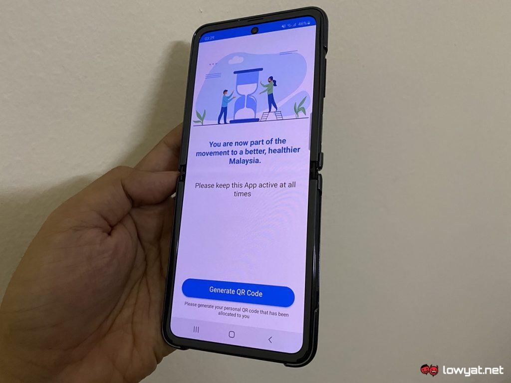 Gerak Malaysia v2.0 Cập nhật để cung cấp iOS trên 7 có thể 1