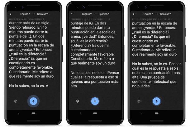 Google Dịch phiên âm (và dịch) những gì bạn nói trong thời gian thực 3