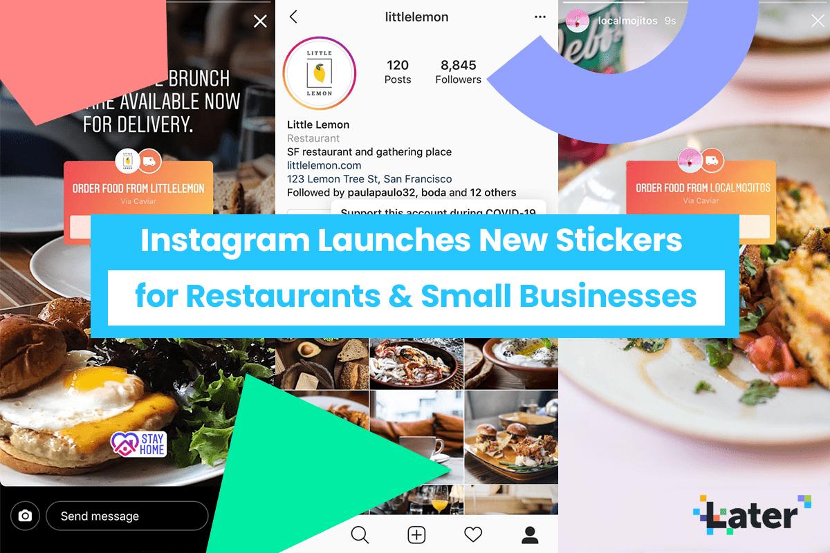Cách sử dụng InstagramNew giao thực phẩm và dán thẻ quà tặng 1