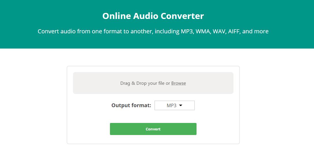 Cách chuyển đổi video và âm thanh trực tuyến 2