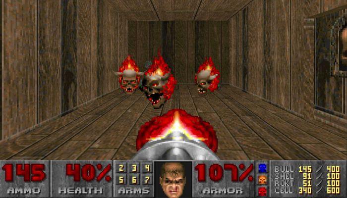 Chạy trò chơi cũ Doom