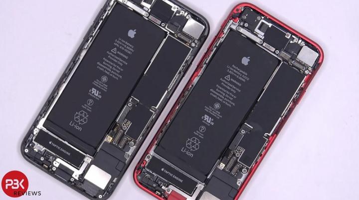 Vo vnútri je nový iPhone SE veľmi podobný iPhone 8