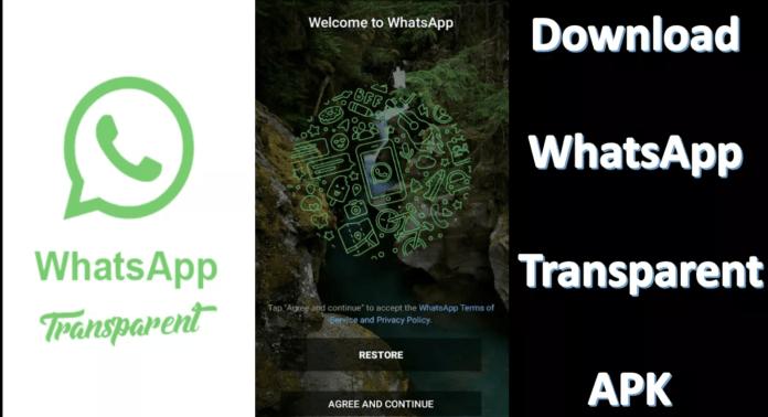 WhatsApp Transparentné