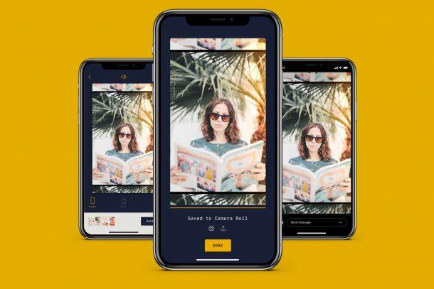Với RTRO, bạn có thể quay video cũ bằng iPhone 1