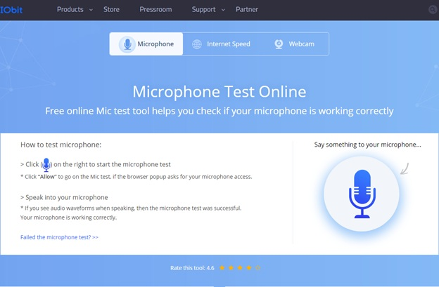 Kiểm tra Mic trực tuyến