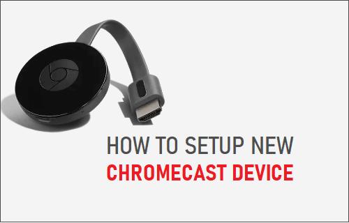 Dưới đây là cách thiết lập thiết bị Chromecast mới 4