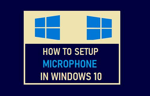 Đây là cách thiết lập micrô Windows 10 2