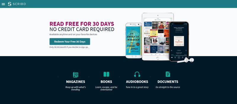 Scribd làm cho toàn bộ thư viện sách điện tử và sách nói miễn phí trong một tháng 1