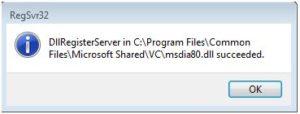 Bạn sẽ gỡ cài đặt hoặc gỡ bỏ msdia80.dll là gì? (Làm theo phương pháp) 2