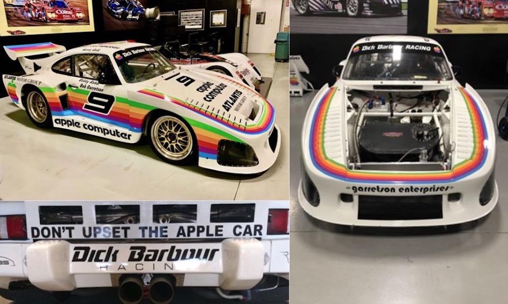 Muốn có một bản sao của chiếc xe đua duy nhất Apple Bao giờ tài trợ? Nó là của bạn với giá 500.000 đô la 2