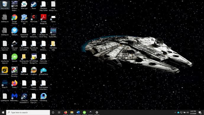 Windows 7 Ako zmenšiť ikony na ploche v systéme Windows 3