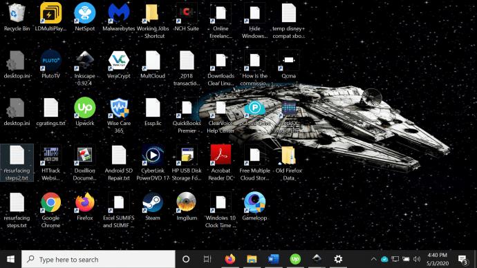 Windows 7 Ako zmenšiť ikony na ploche v systéme Windows 4