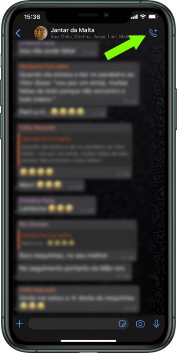 Mẹo: Cách thực hiện cuộc gọi video nhóm qua WhatsApp trên iPhone 4