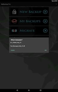 Min Backup Pro-skärmdump