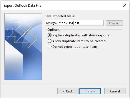 Làm cách nào để di chuyển tệp OST cho tài khoản Exchange, Outlook.com hoặc IMAP? 7