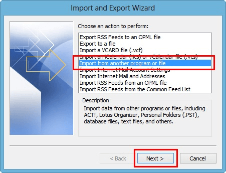 Làm cách nào để di chuyển tệp OST cho tài khoản Exchange, Outlook.com hoặc IMAP? 9