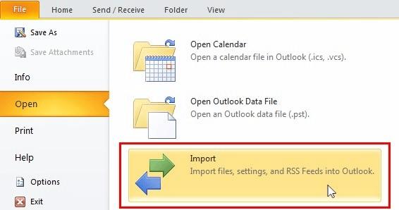 Làm cách nào để di chuyển tệp OST cho tài khoản Exchange, Outlook.com hoặc IMAP? 13