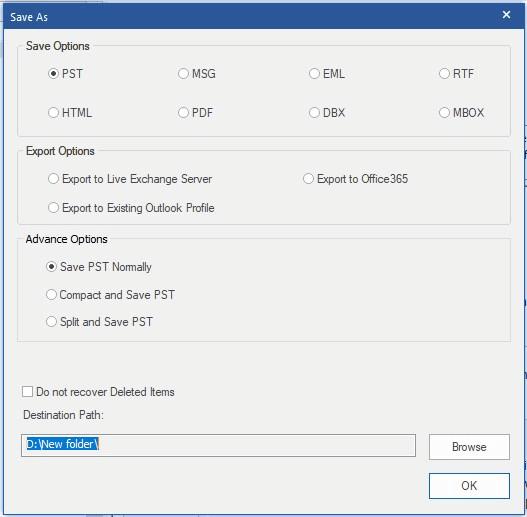 Làm cách nào để di chuyển tệp OST cho tài khoản Exchange, Outlook.com hoặc IMAP? 24