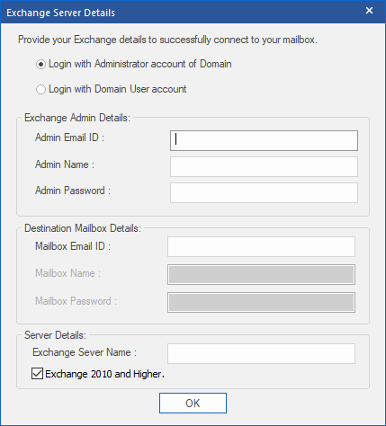 Làm cách nào để di chuyển tệp OST cho tài khoản Exchange, Outlook.com hoặc IMAP? 25