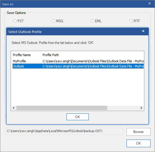 Làm cách nào để di chuyển tệp OST cho tài khoản Exchange, Outlook.com hoặc IMAP? 27