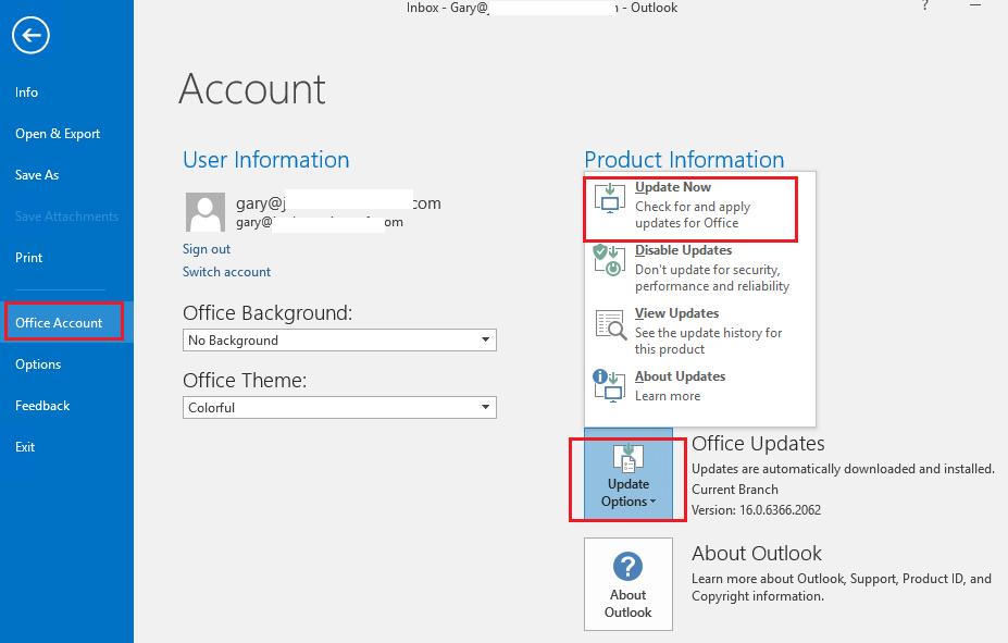 Cách khắc phục sự cố lập chỉ mục Outlook 2016 trên PST cục bộ 4