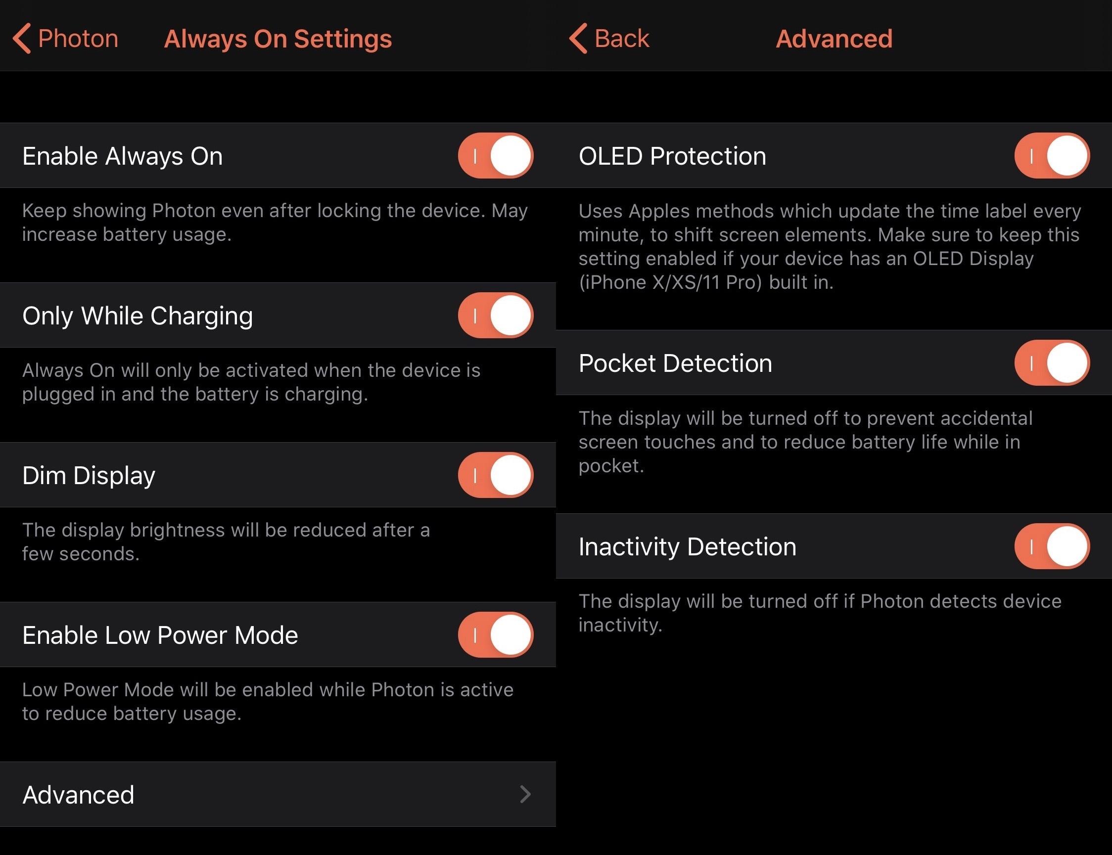 Photon cung cấp màn hình xung quanh cho các thiết bị iOS 13 đã jailbreak 5