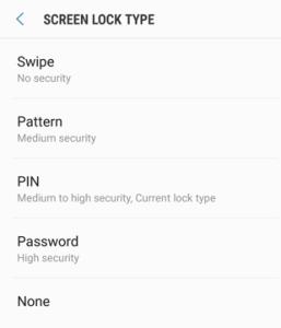 Quên mã PIN trên Samsung Galaxy S9 cũng Galaxy S9 Plus (giải pháp) 1