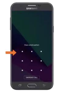 Quên khóa mẫu của tôi Samsung Galaxy J7 (giải pháp) 1