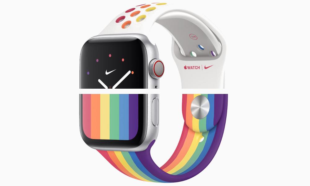 Apple Phát hành đồng hồ mới, ban nhạc thể thao để tôn vinh niềm tự hào 2