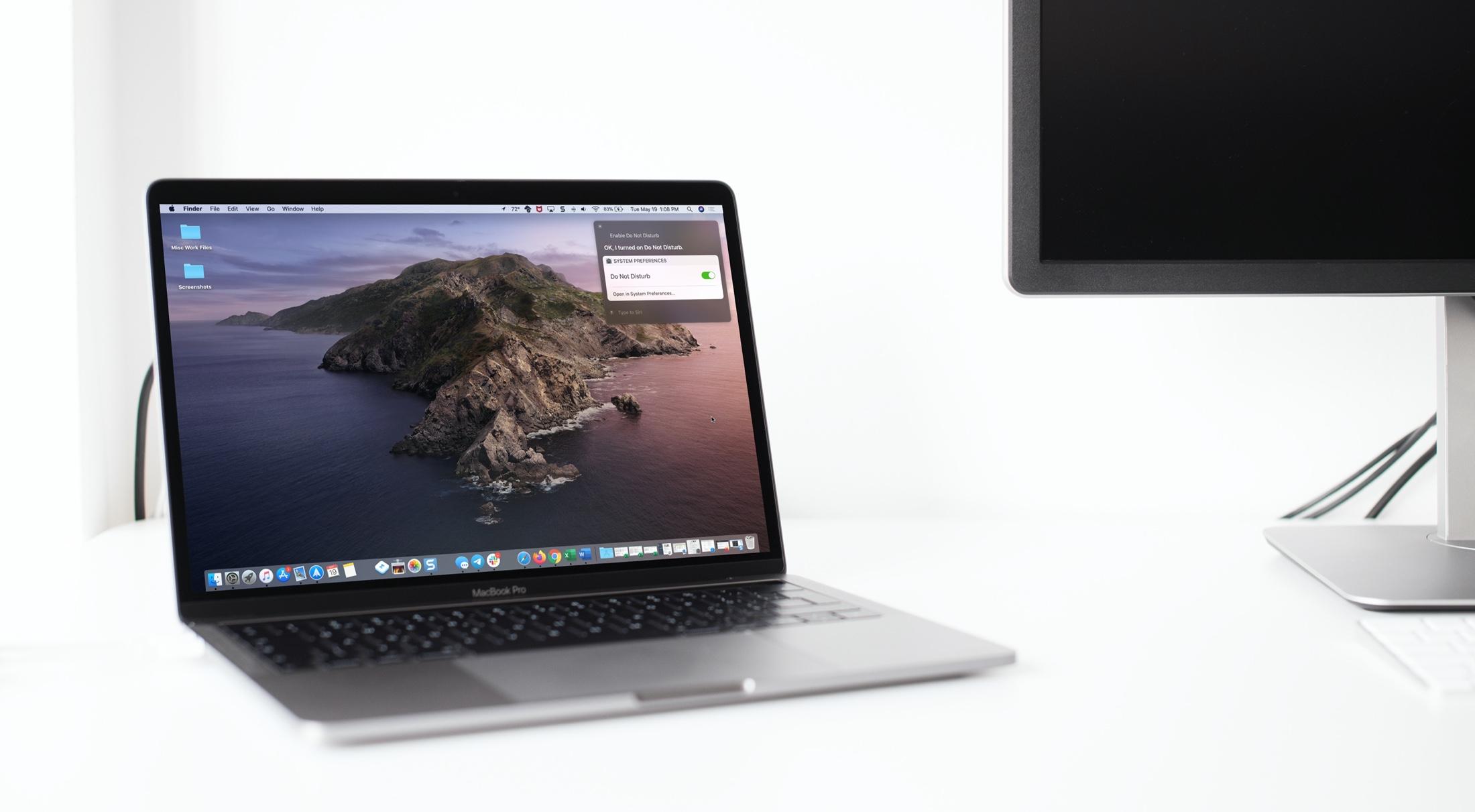 Xin chào Siri Không làm phiền Mac