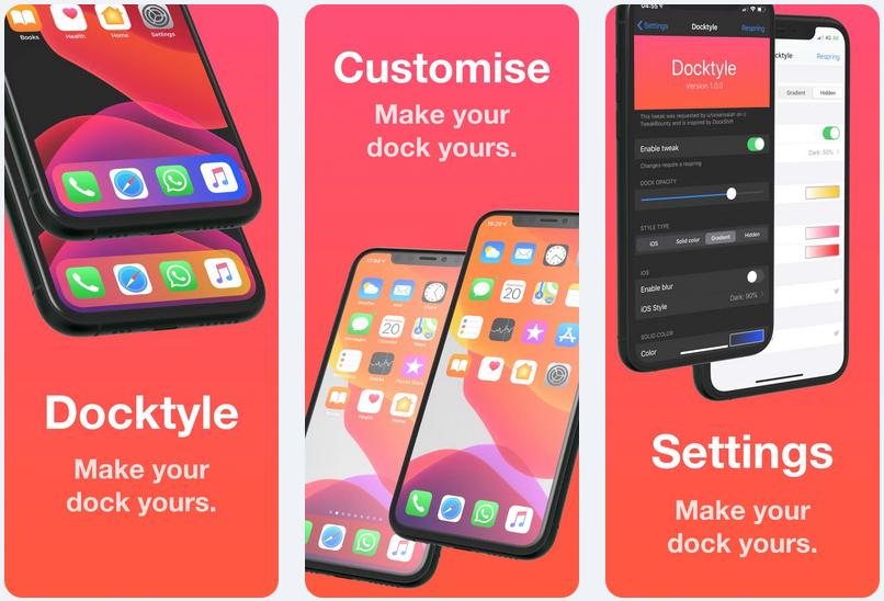 Thêm một số tính cách vào Dock iPhone đã jailbreak của bạn với Docktyle 1