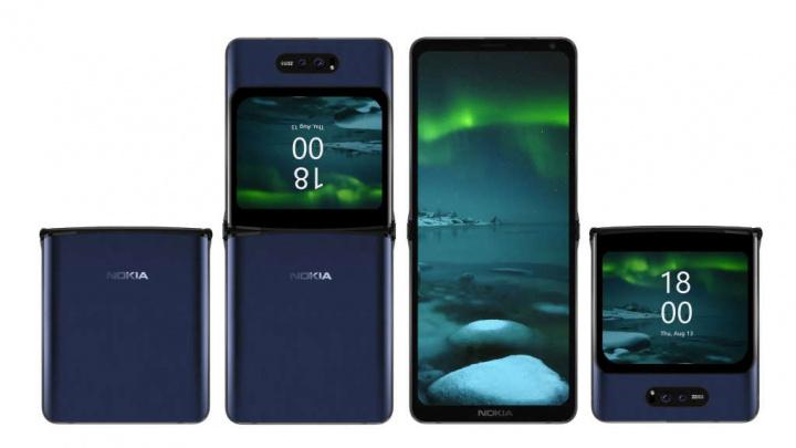 Nokia vẫn sẽ hoạt động trên điện thoại thông minh của mình với màn hình gập 13