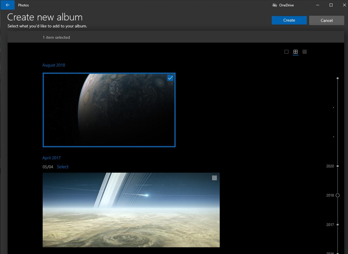 Windows 10: Thêm album mới vào ứng dụng Ảnh 1