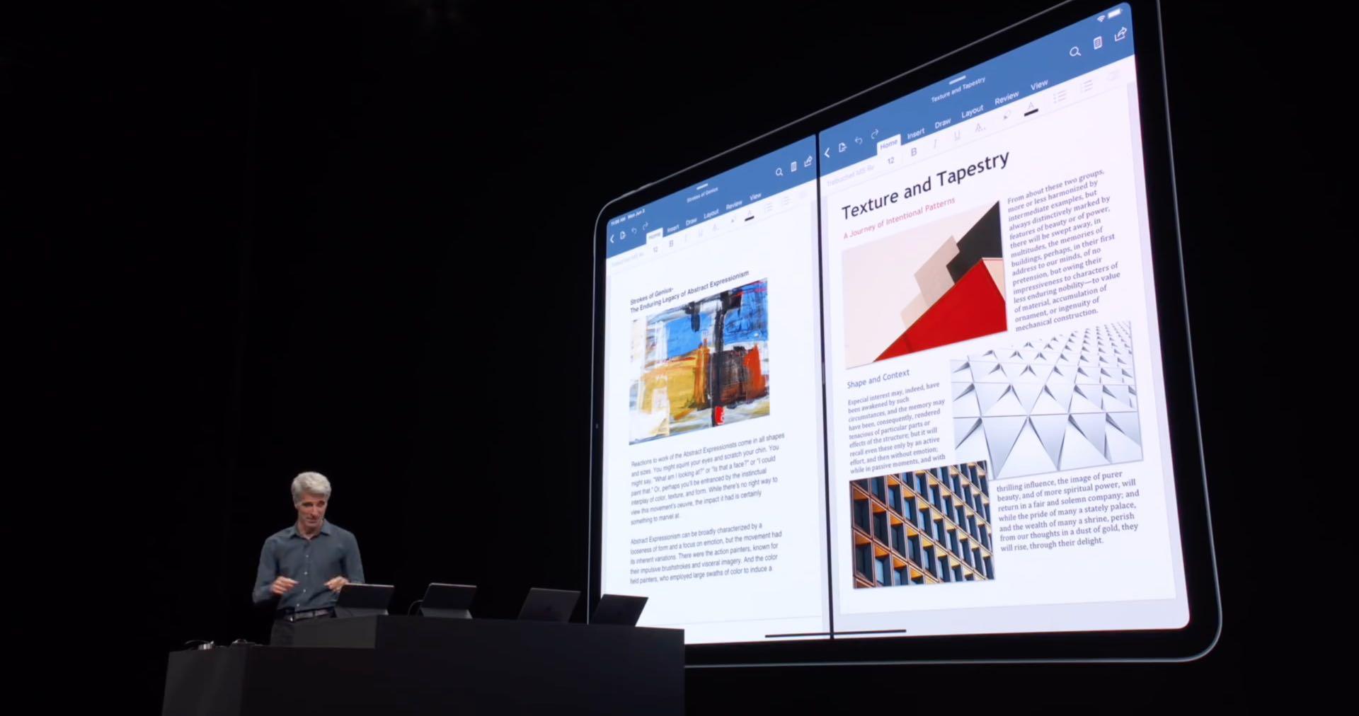 Word och PowerPoint får Split View, styrplatterstöd som kommer till Office för iOS i höst 1