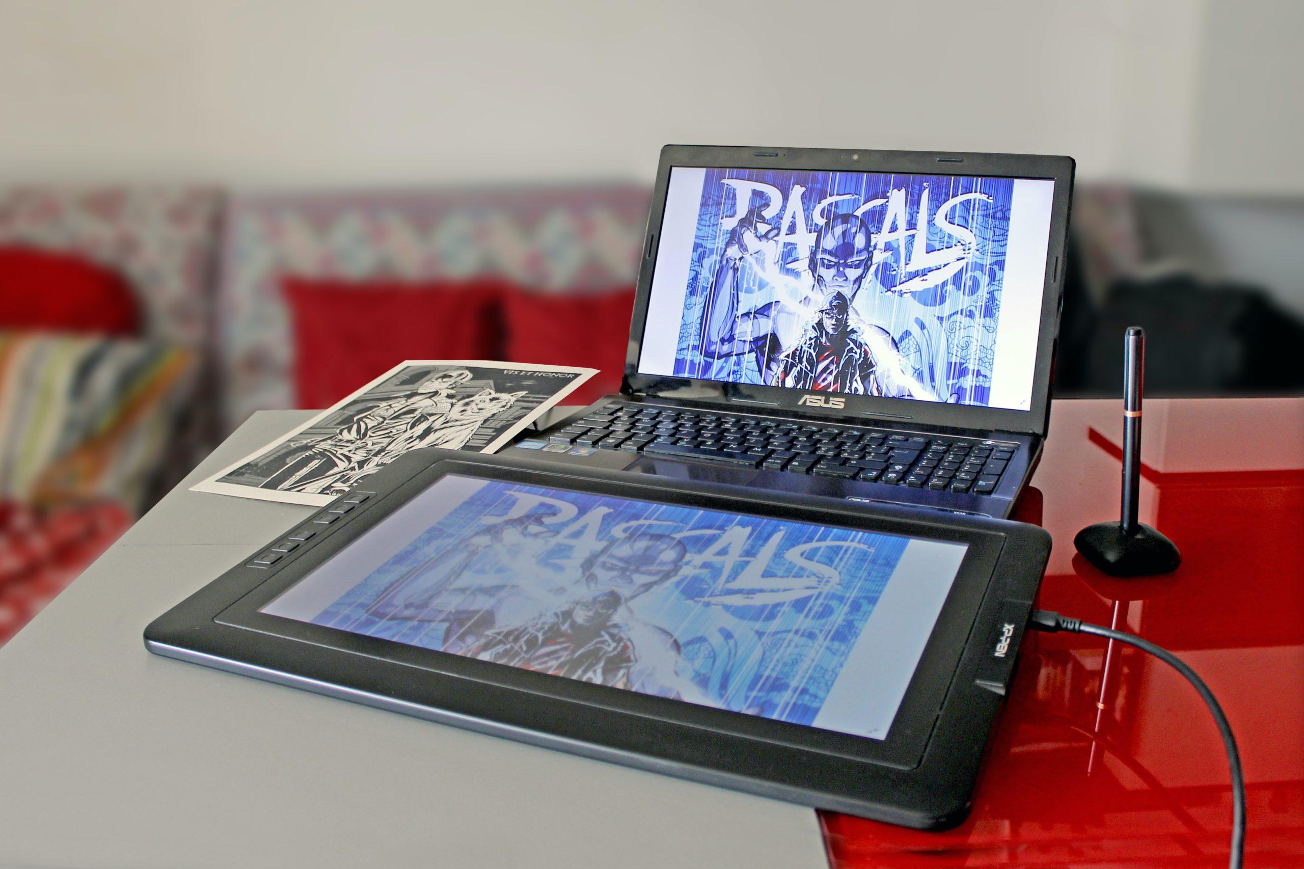 XP-Pen Artist Display Tablet tính năng và đánh giá 2