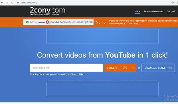 Miễn phí trực tuyến YouTube Bộ chuyển đổi MP34