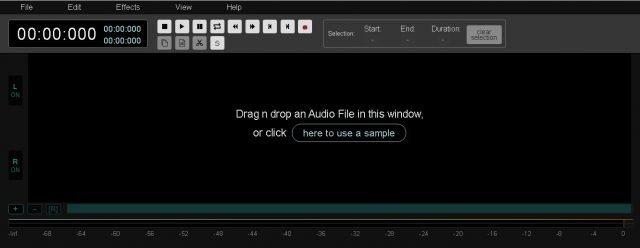 Audiomass, một trình chỉnh sửa âm thanh trực tuyến mạnh mẽ và miễn phí 1
