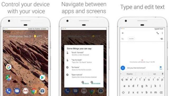 Voice Access, một ứng dụng cho phép bạn sử dụng Android với giọng nói của mình 1