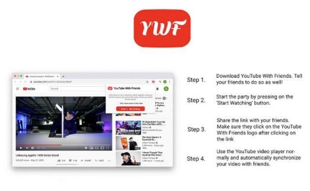 YouTube Xem video với YouTube với bạn bè của bạn mà không rời khỏi nhà 1
