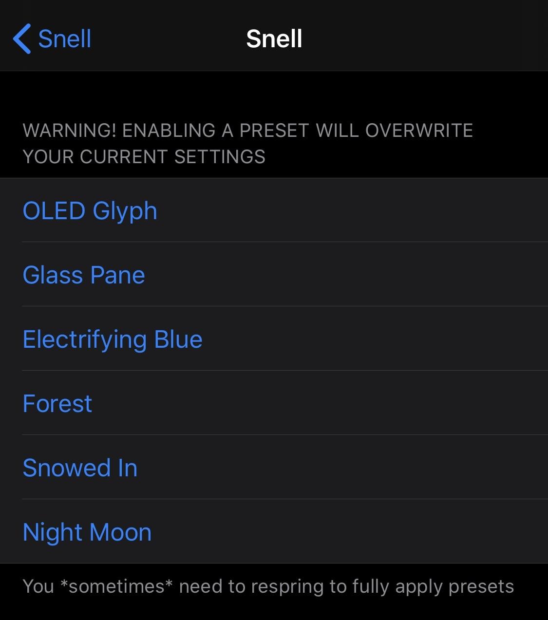 Thêm bất kỳ ký tự nào vào tin nhắn cảnh báo trên iPhone của bạn bằng Snell 4