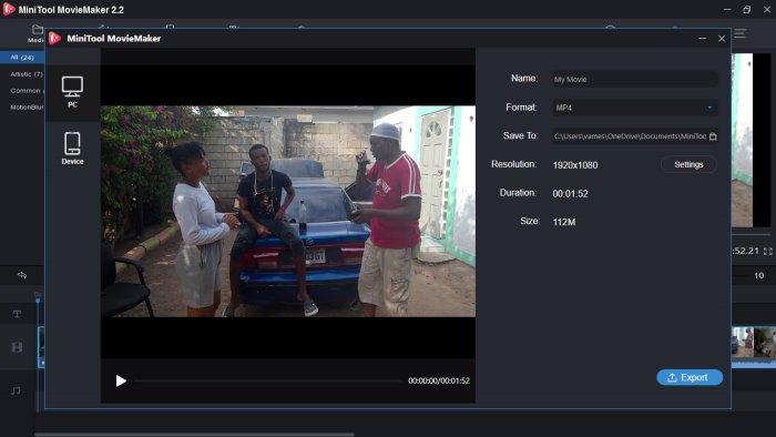 Đánh giá MiniTool MovieMaker: Một phần mềm sản xuất phim dễ sử dụng cho Windows 10 3