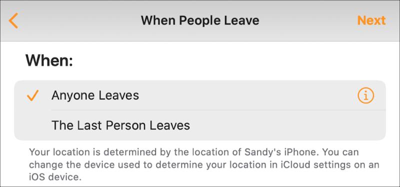 Tự động hóa nhà bất cứ ai rời khỏi Mac