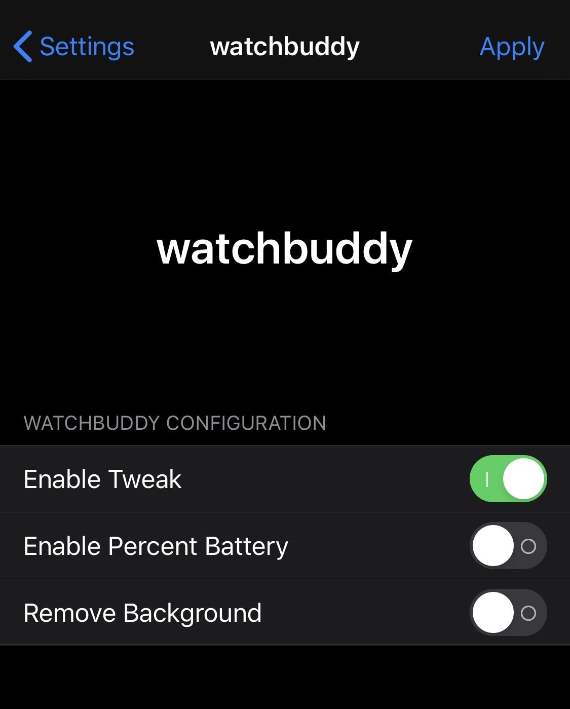 WatchBuddy là một người kiên trì Apple Watch phụ tùng pin cho màn hình khóa iPhone của bạn 2