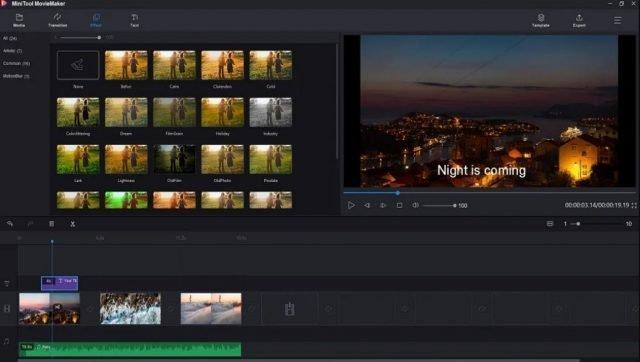 Chỉnh sửa video dễ dàng và không làm mất tài nguyên nhóm của bạn với MiniTool Movie Maker 1