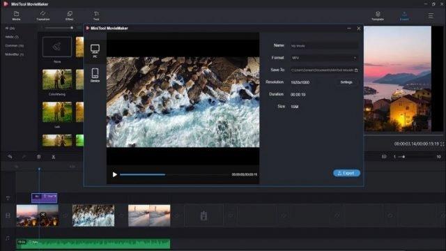 Chỉnh sửa video dễ dàng và không làm mất tài nguyên nhóm của bạn với MiniTool Movie Maker 2