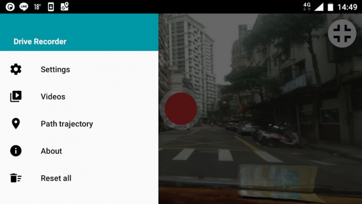 Biến điện thoại thông minh của bạn thành Dash Cam cho xe hơi với các ứng dụng này 2