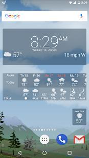 Thời tiết YoWindow - Ảnh chụp màn hình không giới hạn